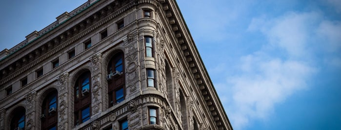 Flatiron Building is one of New York.