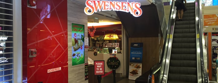 Swensen's is one of Greasy Spoon Badge venues.