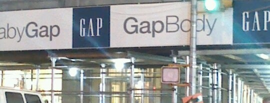 Gap is one of Nyc.