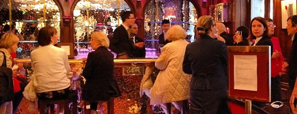 The Crillon Bar is one of Paris.