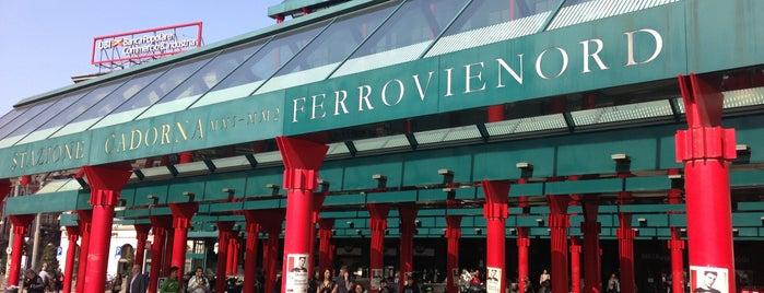 Stazione Milano Cadorna is one of Linee S e Passante Ferroviario di Milano.