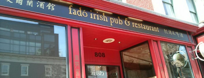 Fadó Irish Pub & Restaurant is one of DC Nights..