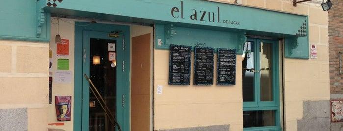 El Azul is one of @ Madrid (MD, España).