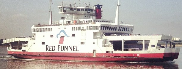 Red Funnel Ferry Terminal 1 is one of Frequent.