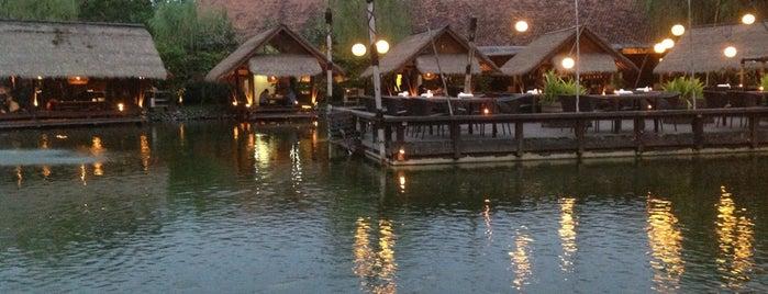 Talaga Sampireun is one of Enjoy Jakarta 2012 #4sqCities.