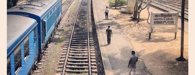 Ambepussa Railway Station is one of Railway Stations In Sri Lanka.