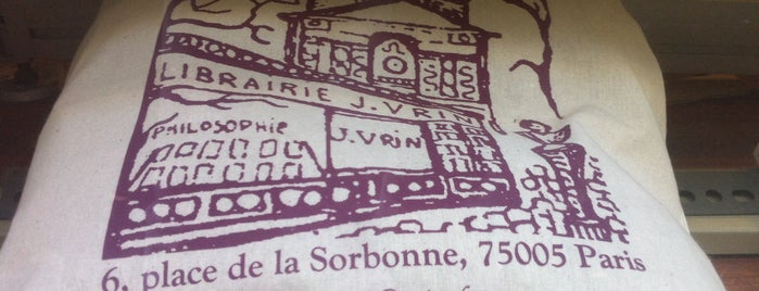 Librairie Philosophique J. VRIN is one of Libraries and Bookshops.