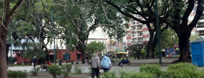 Plaza Esteban Echeverria is one of En la Ciudad.