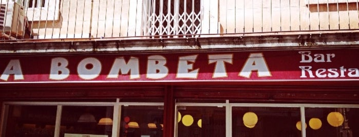 La Bombeta is one of Favoritos.