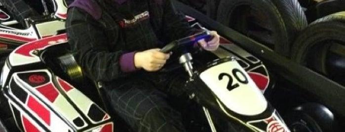 TeamSport Karting is one of London.