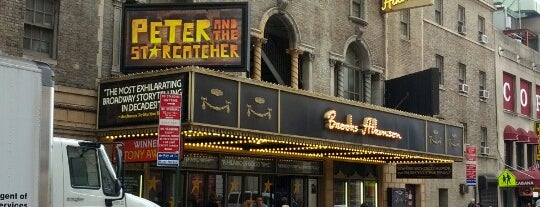 Brooks Atkinson Theatre is one of NYC Broadway Theatres.
