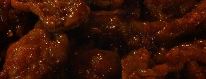 정든닭발 is one of Itaewon food.