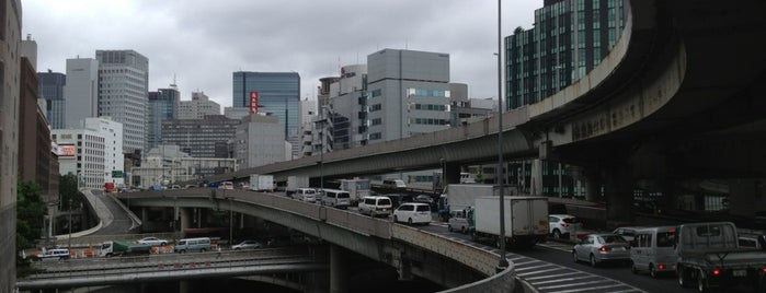 首都高 江戸橋JCT is one of 首都高6号向島線・三郷線.