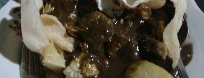 Tahu Teck Teck Pak H. Ali is one of kuliner surabaya.