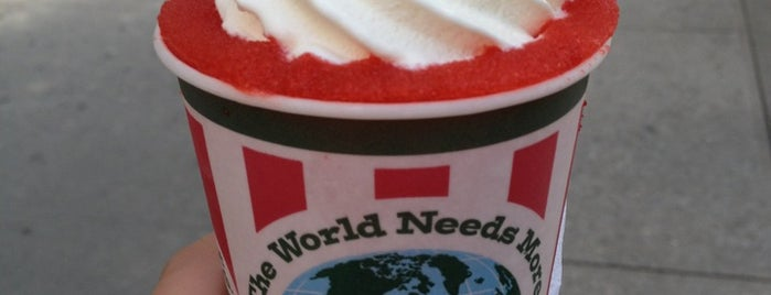 Rita's Water Ice is one of ......