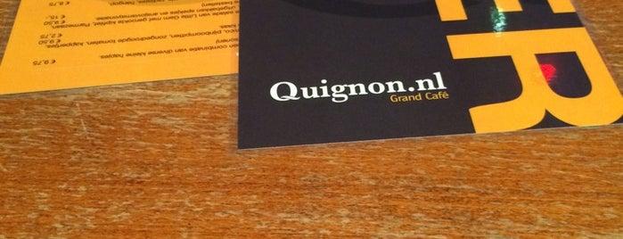 Grand Café Quignon is one of Merve's tips.
