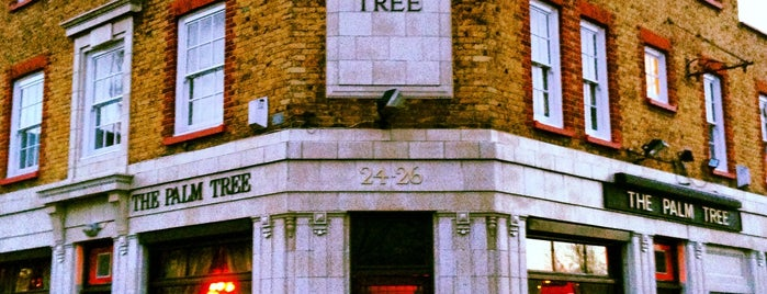 The Palm Tree is one of London pubs.