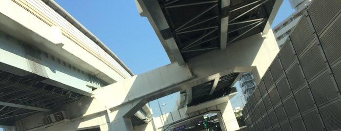 首都高 堤通出入口 (609/610) is one of 首都高6号向島線・三郷線.