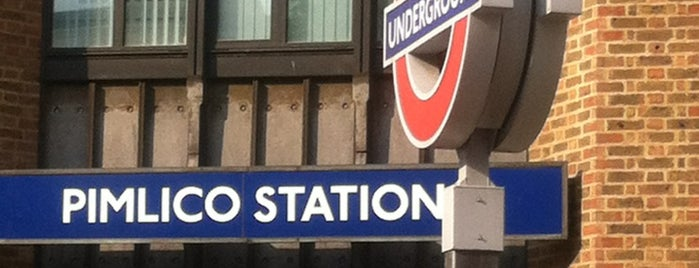 Pimlico London Underground Station is one of Zone 1 Tube Challenge.