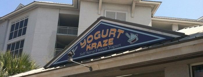 yogurt kraze is one of nom nom nom.