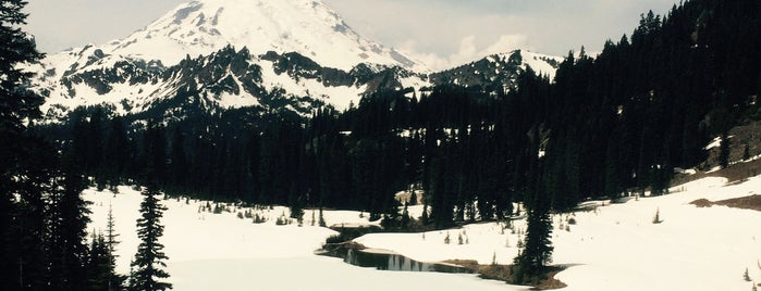 Mount Rainier is one of My Saved Places.
