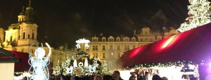 Vánoční trhy | Christmas Market is one of Prague.