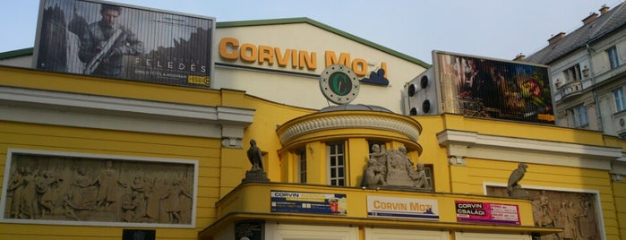 Corvin Mozi is one of Bestof nyolcker.