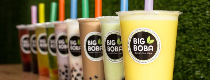 Big Boba Bubble Tea Shop is one of Un buen café!.