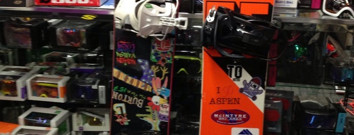 Sun and Ski Sports is one of SNOWBOARD SHOPS.