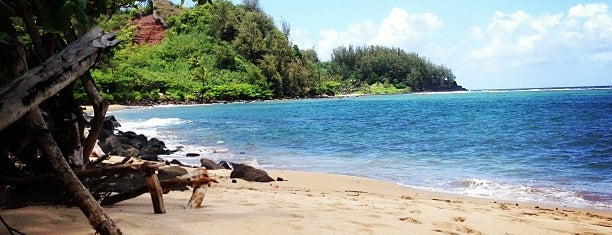 Hanalei Bay is one of Kauai Favorites.