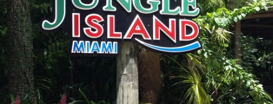 Jungle Island is one of Where to Get Cultured - Miami.