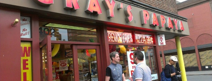 Gray's Papaya is one of Travel Channel Food Badges.