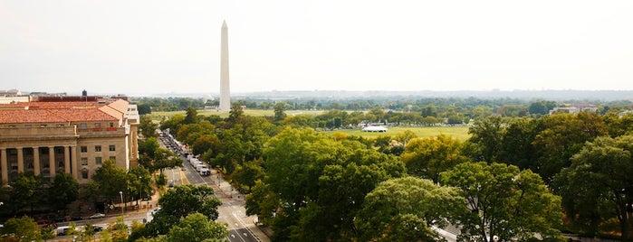 W Washington D.C. is one of T+L's Definitive Guide to Washington D.C..