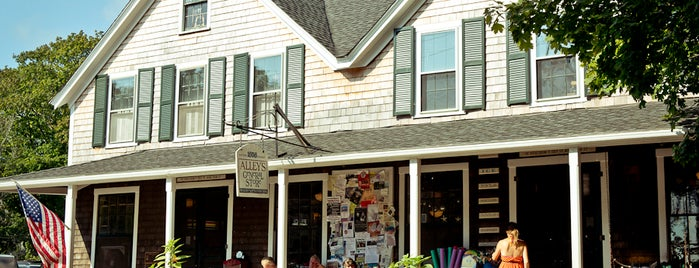 Alley's General Store is one of Martha's Vineyard.