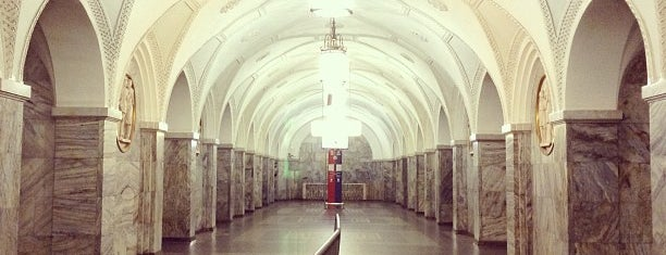 Метро Парк культуры, кольцевая (Metro Park kultury, line 5) is one of Complete list of Moscow subway stations.