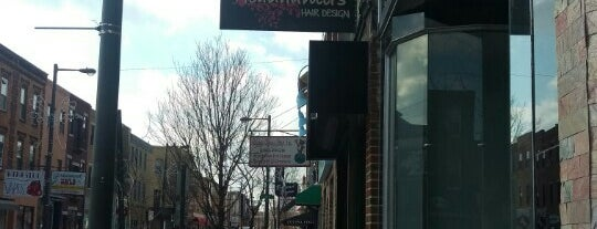 Headhunters Hair Design is one of Frequent Places.