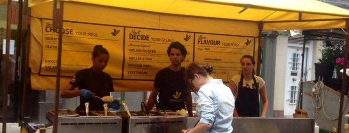 Freebird Burritos is one of Burritos in London.