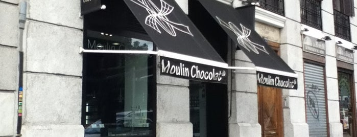 Moulin Chocolat is one of @ Madrid (MD, España).