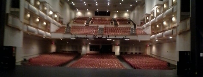Curtis M. Phillips Center for the Performing Arts is one of B. Locations.