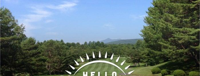 草津CC is one of Top picks for Golf Courses.