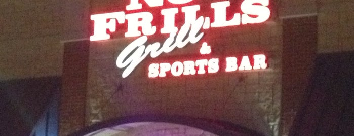 No Frills Grill & Sports Bar is one of Guide to Keller's best spots.