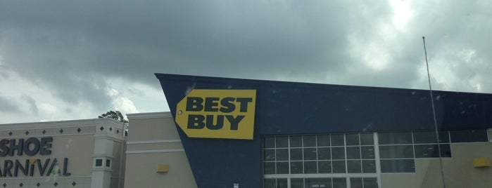Best Buy is one of Top 10 Places.