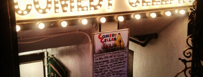 Comedy Cellar is one of New York Oct 2011.