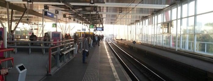 Spoor 8 is one of Travel.