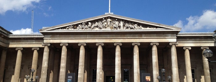 British Museum is one of London City Badge - London Calling.