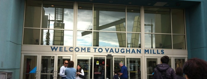 Vaughan Mills is one of Shopping malls of the Greater Toronto Area (GTA).