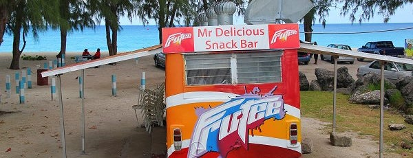 Mr. Delicious Snack Bar is one of Local dining gems.