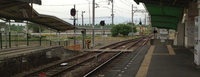 Hashio Station is one of 近鉄田原本線.