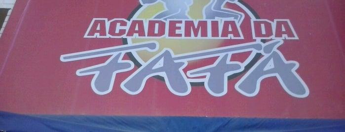 Academia da Fafá is one of A Onde vou....