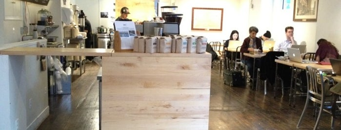 Pushcart Coffee is one of GW/NY Cafe Spots.